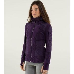 Lululemon Fleecy Keen Jacket Purple Womens Size 6